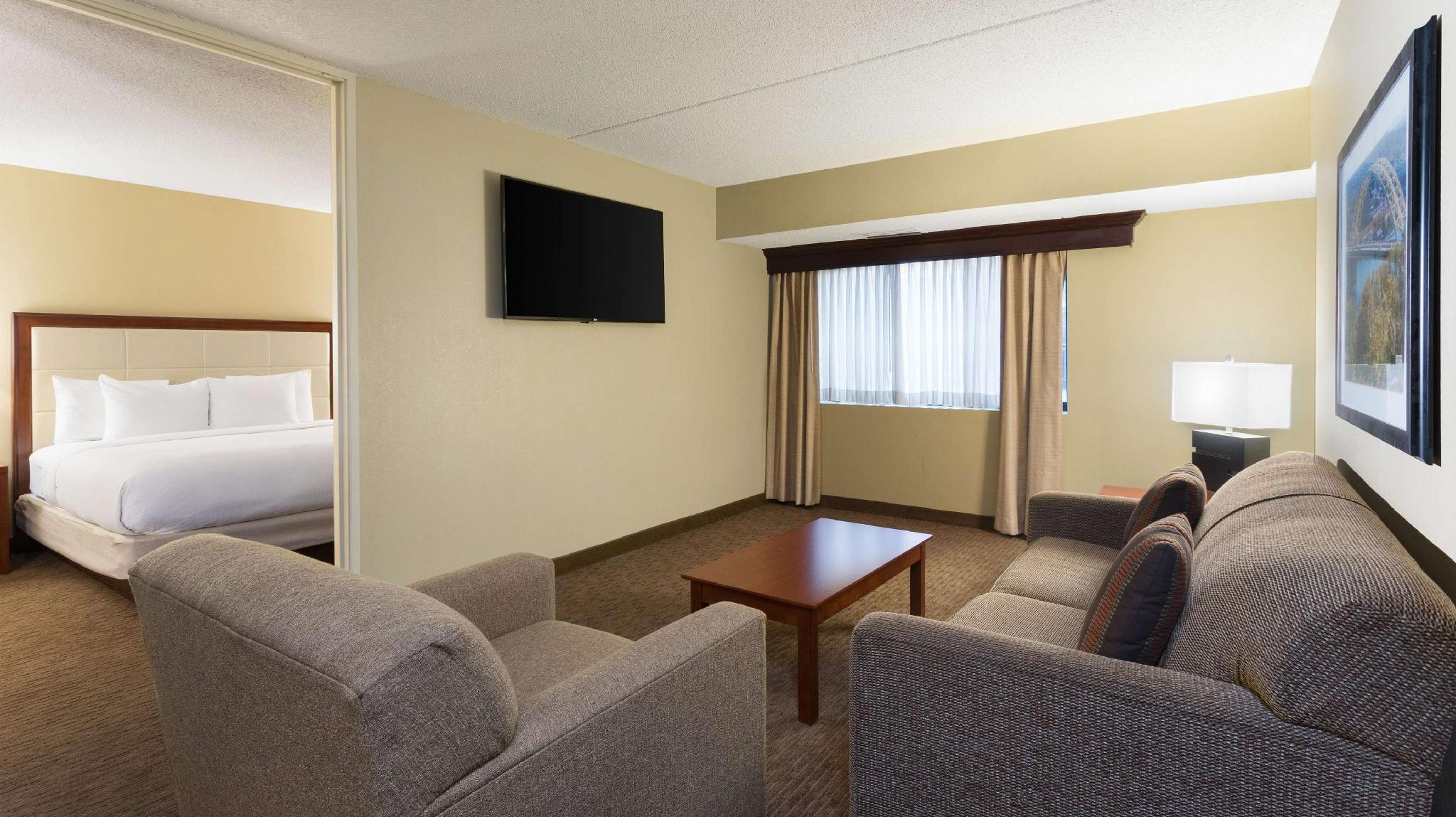 1 King Bed 3 Room Conference Suite With Sofabed