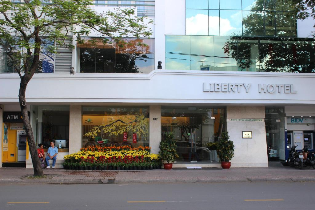 自由西贡绿色观景酒店 (Liberty Saigon Green View Hotel)