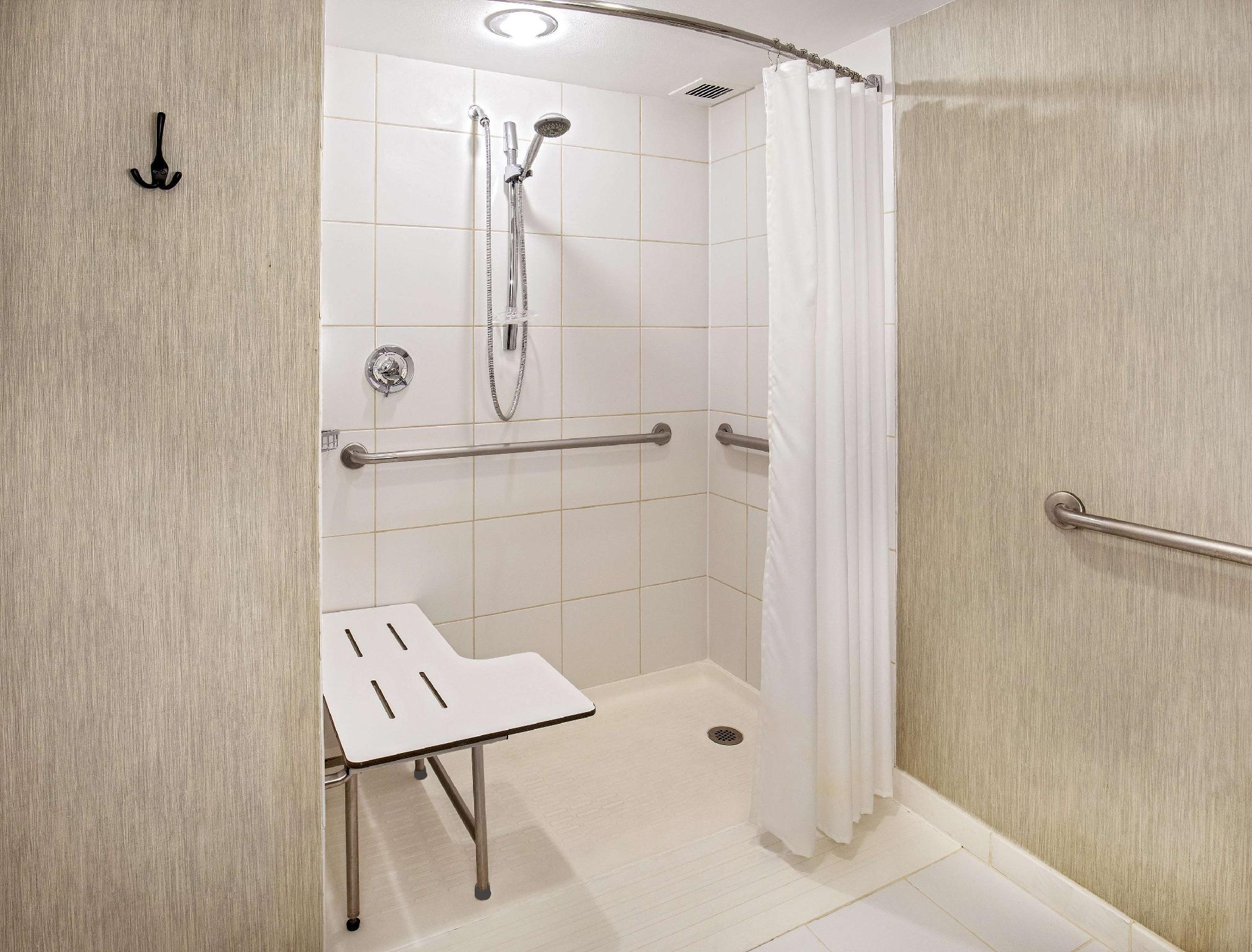 1 King Accessible with Roll in Shower