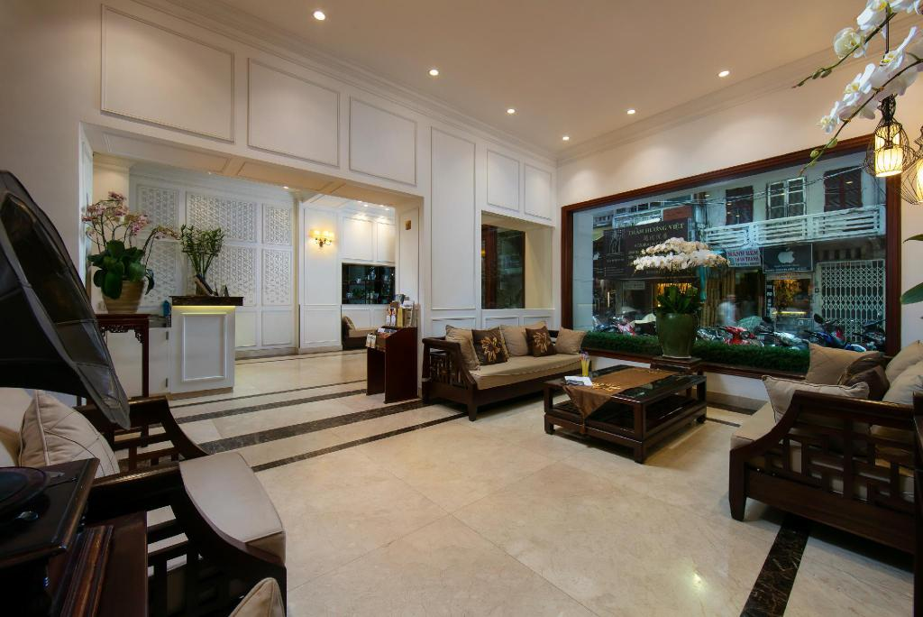 Lobby Hong Ngoc Dynasttie Boutique hotel & Spa