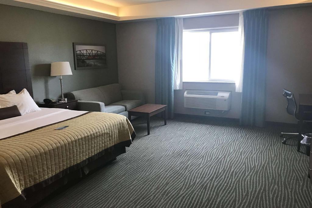 1 King Bed, Business Room, City View, Non-Smoking - Вітальня