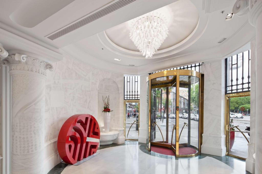 Lobby NH Collection Madrid Paseo del Prado