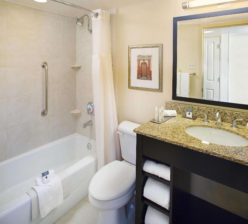 1 King with Sofabed Fridge Non-Smoking - Guestroom Doubletree Hotel New Orleans Airport