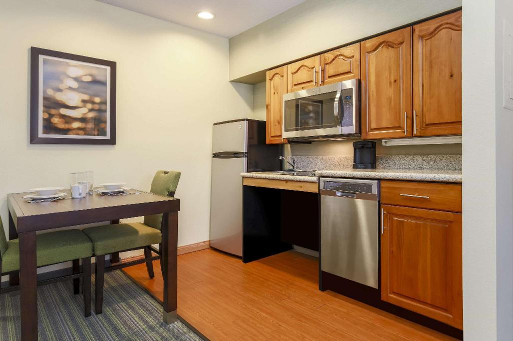 1 King or 2 Double Accessible Roll in Shower Non-Smoking Homewood Suites By Hilton Clearwater Hotel