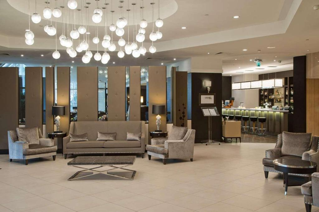 Lobby Doubletree by Hilton Luxembourg Hotel