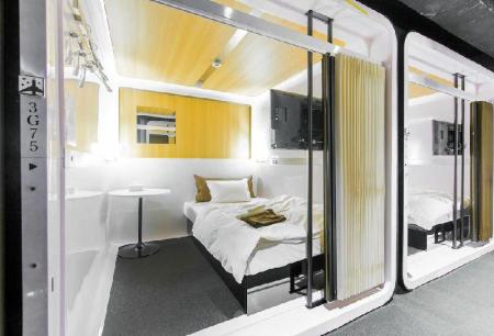 First Class Cabin for Female - Bed First Cabin Kyoto Arashiyama