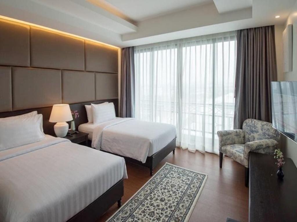 Deluxe City View - Bed Bay Beach Resort Jomtien