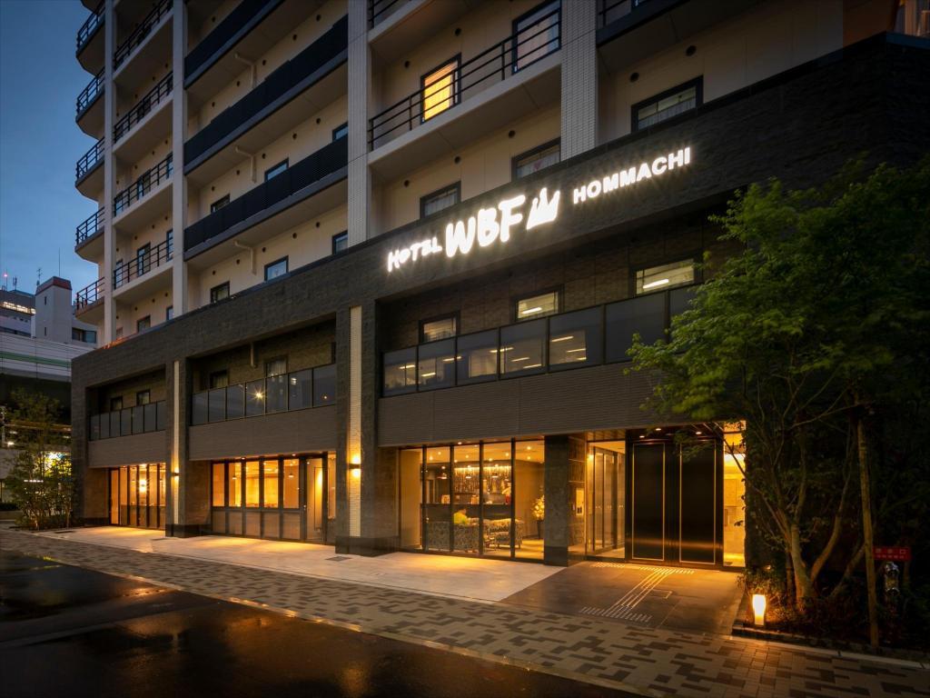 Hotel WBF Hommachi Oszaka 5d414534eb