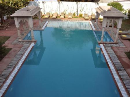 Swimming pool Chandra Mahal Haveli - An Amritara Private Hideaway