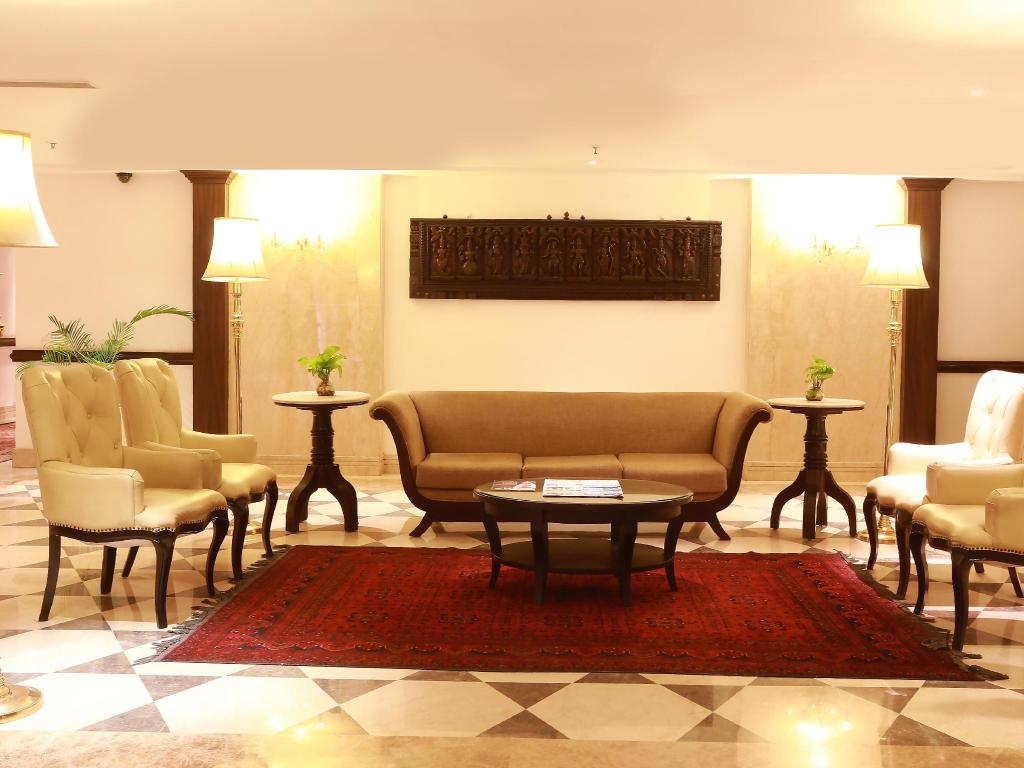Lobby The Ashok Hotel