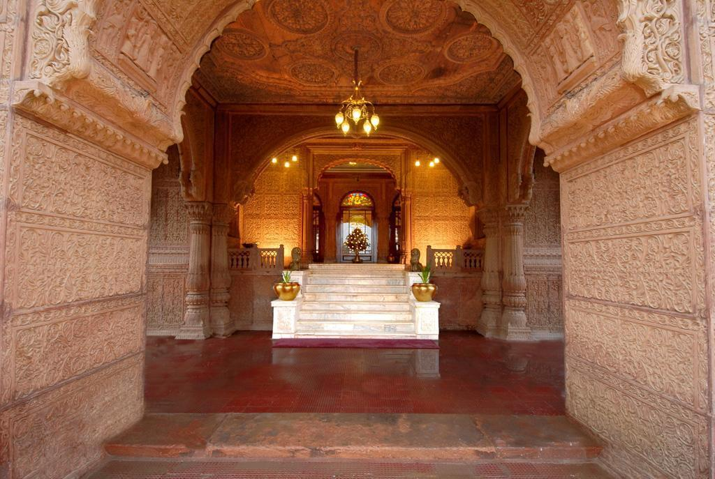 Interior view The Laxmi Niwas Palace