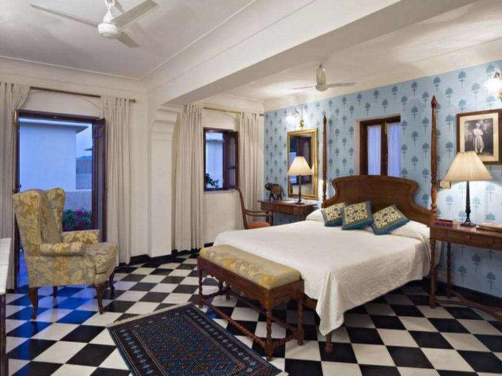 Deluxe Air Conditioning Room Samode Haveli Hotel