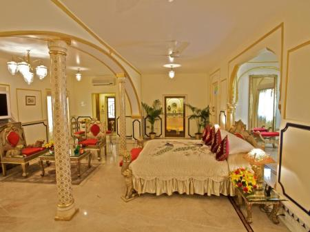 Prestige Suite - Room plan The Raj Palace (Small Luxury Hotels of the World)