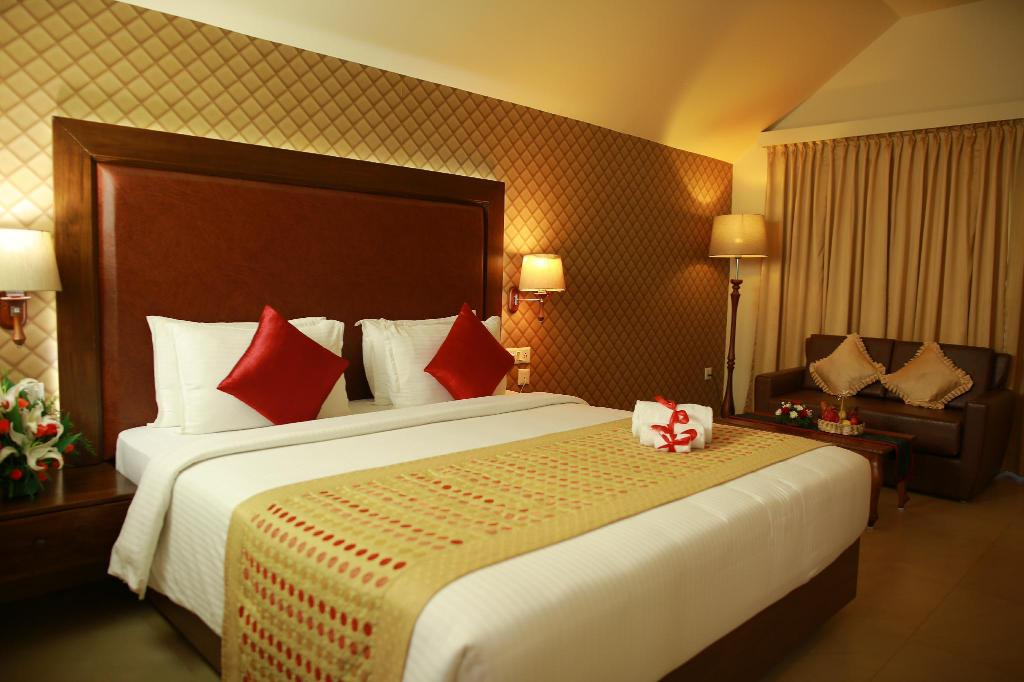 Exotica Room - Room plan Uday Samudra Leisure Beach Hotel