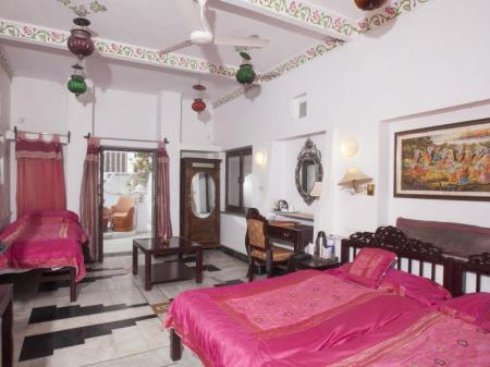 Interior view Lake Pichola Hotel