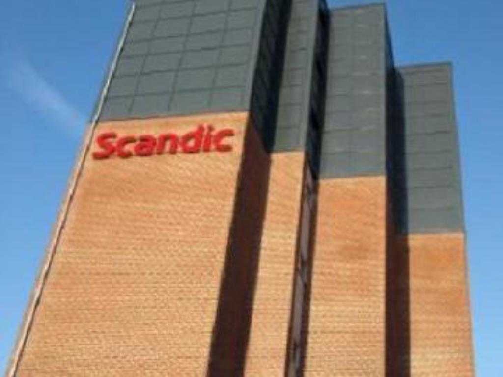 Exterior view Scandic Olympic