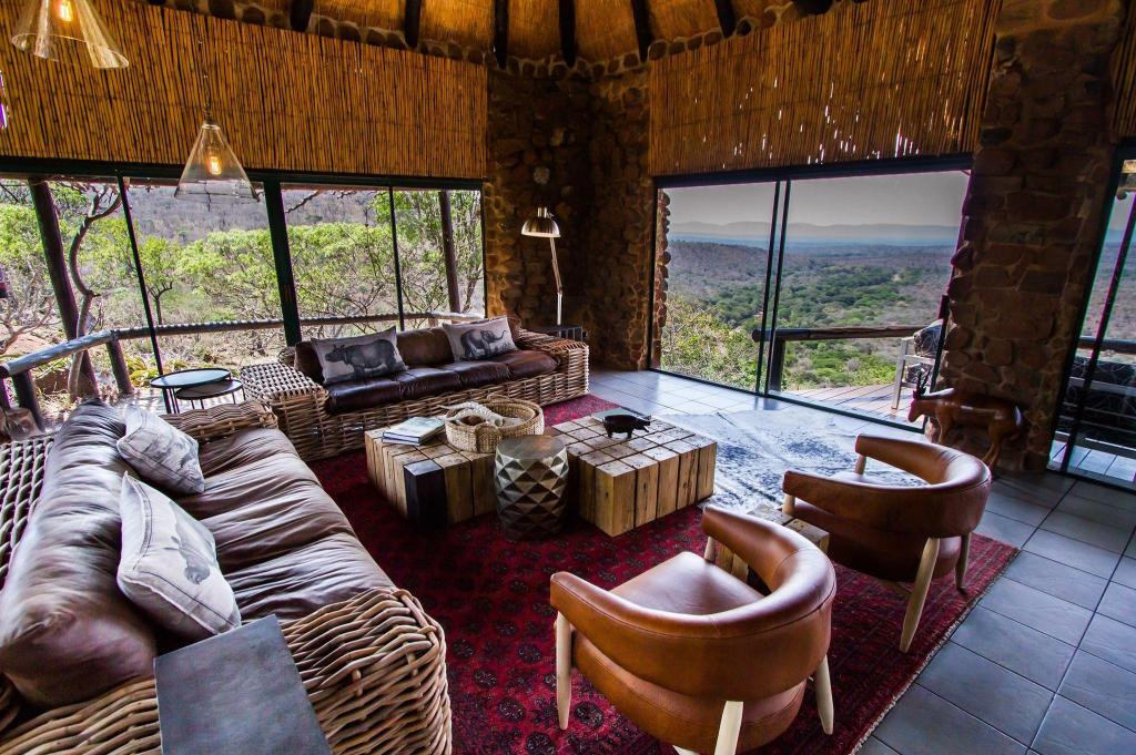 Interior view Leopard Mountain Safari Lodge
