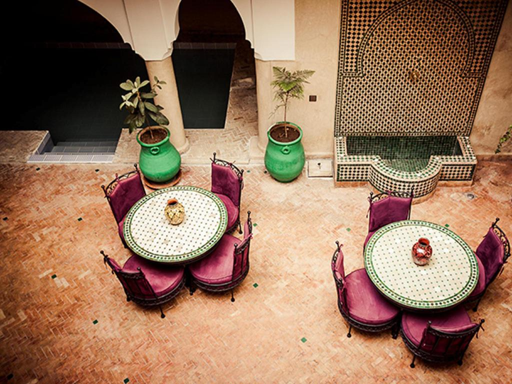 Interior view Riad Imilchil