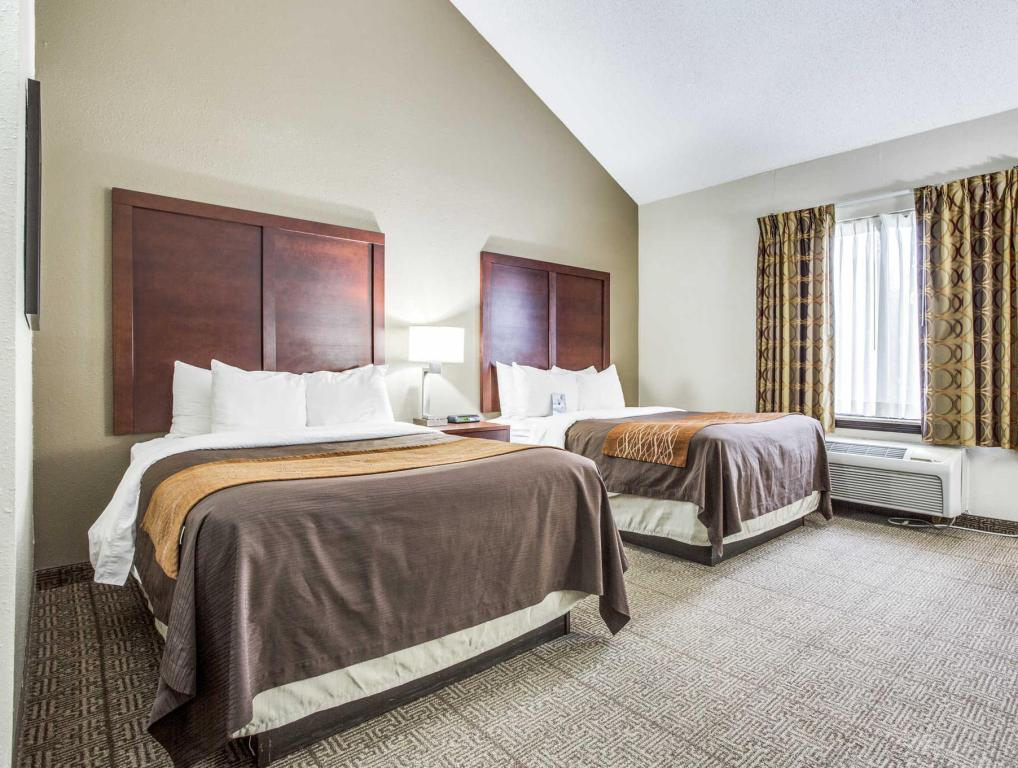 Cameră dublă Comfort Inn and Suites Love Field-Dallas Market Center