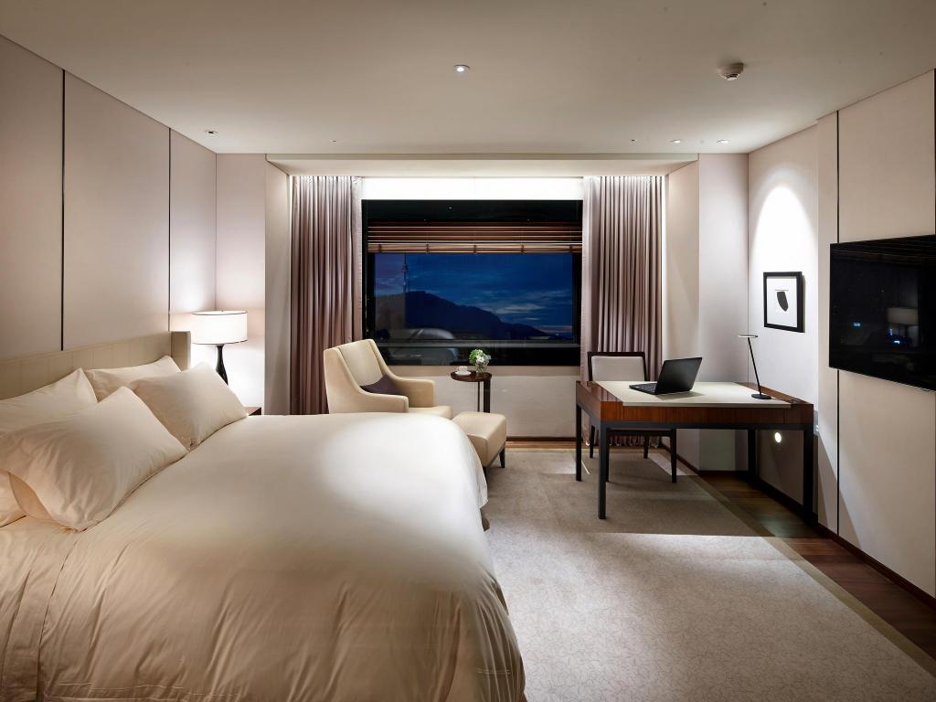 Deluxe Double - Room plan The Shilla Seoul