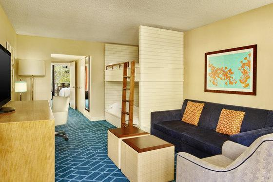 Family Room, Double, Guest room, Pool view