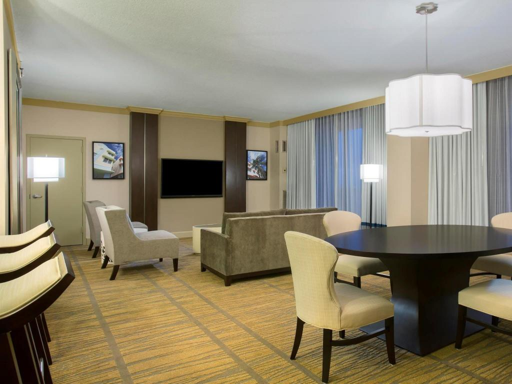 Notranjost DoubleTree by Hilton Miami Airport Convention Center