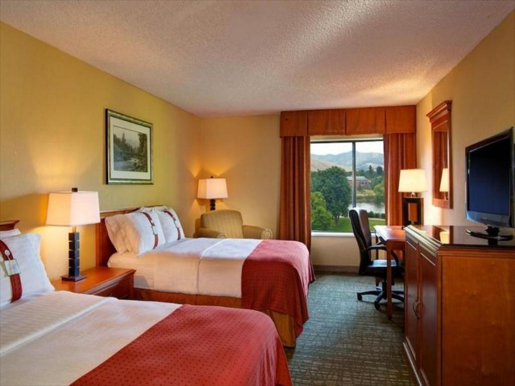2 Bed Hearing Mobility Accessible Tub Non-Smoking - Habitación Holiday Inn Missoula Downtown At The Park