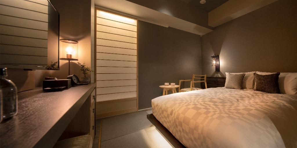 Japanese Modern Room for 1 Person with Semi-Double Bed - Non-Smoking - Guestroom Hotel Resol Kyoto Kawaramachi Sanjo