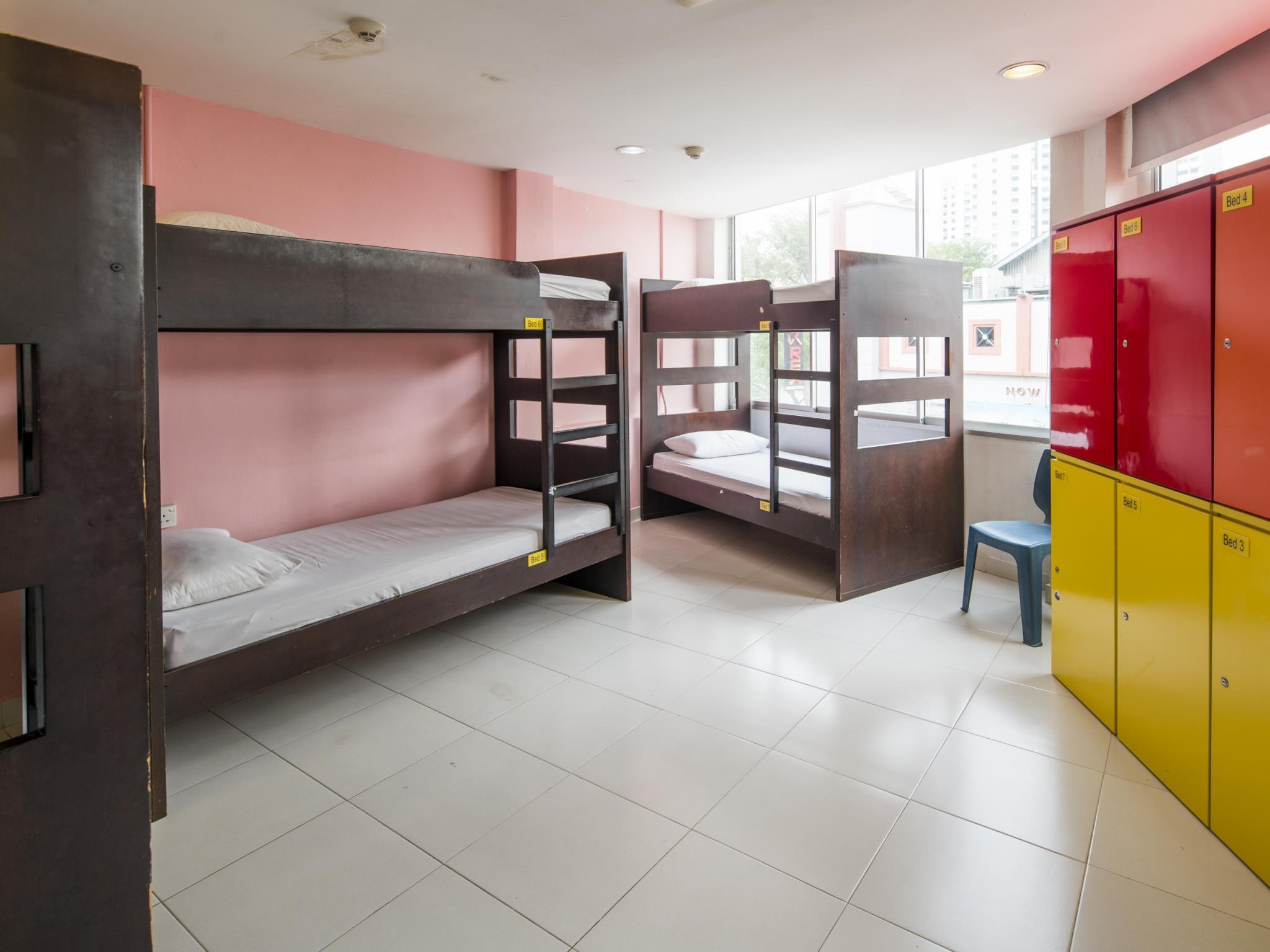 2 People in 8-Bed Dormitory - Mixed