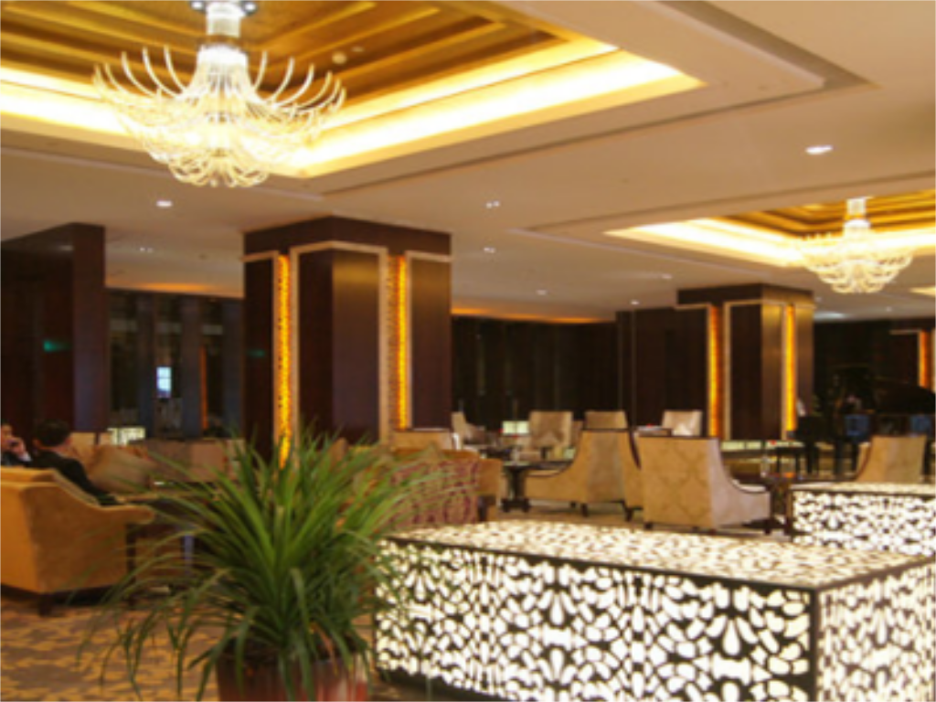 Интериор на хотела Jinling International Hotel Taizhou