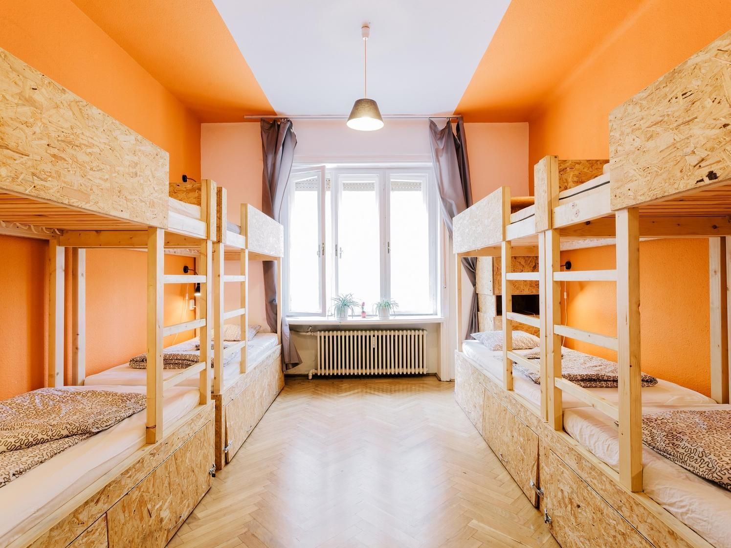 1 Bed in 8 Bedded Dormitory