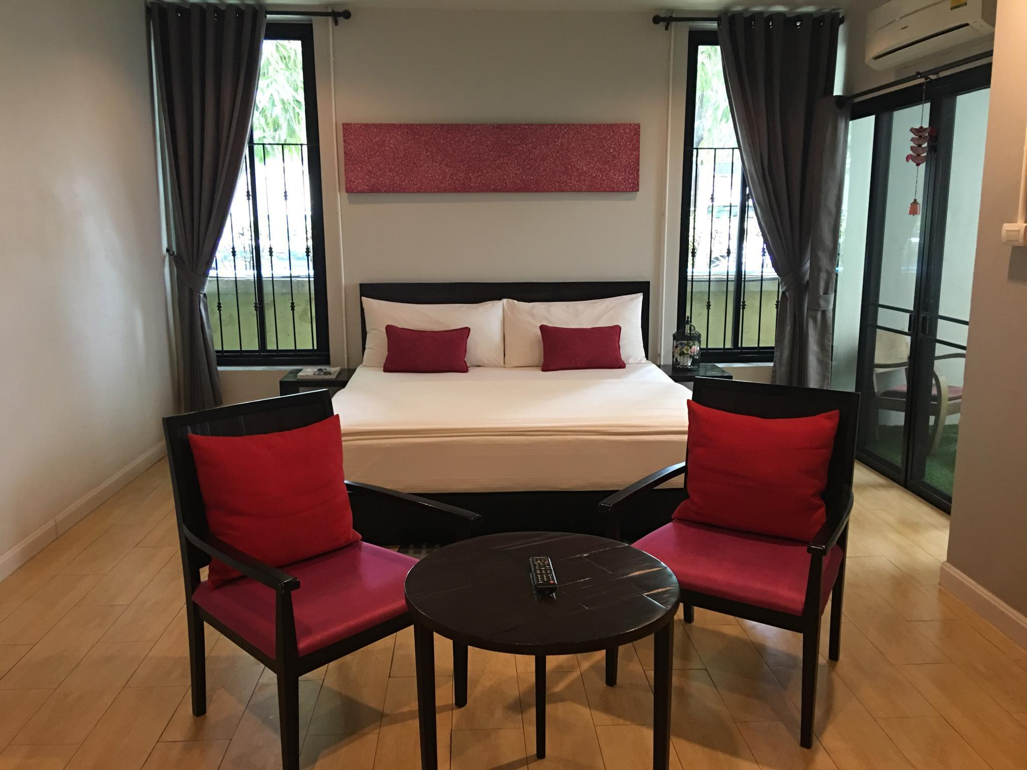 Chambre Supérieure avec Lit King Size et Balcon (Superior Room with King Bed and Balcony)