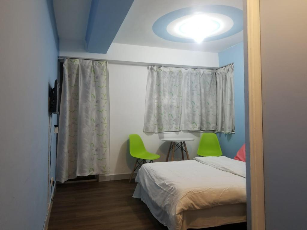 Kamar Double - Denah kamar Silverview Resort Holiday
