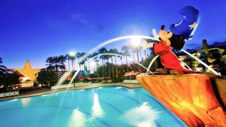 piscină [în aer liber] Disney's All-Star Movies Resort