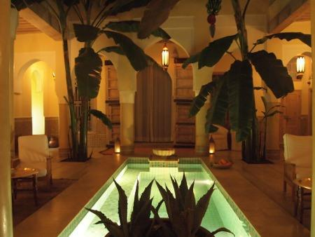 Swimming pool Riad Azoulay