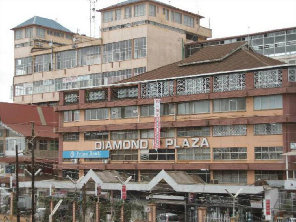 鑽石廣場酒店 (Diamond Plaza Apartments)