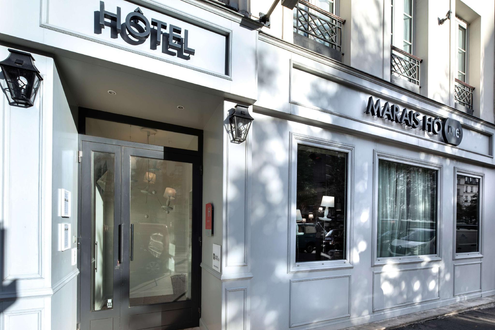 Hotel Marais HOme Paris Frankrike Hotelltilbud i siste