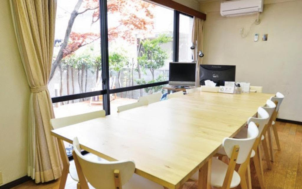 Empfangshalle Guest house Hokorobi