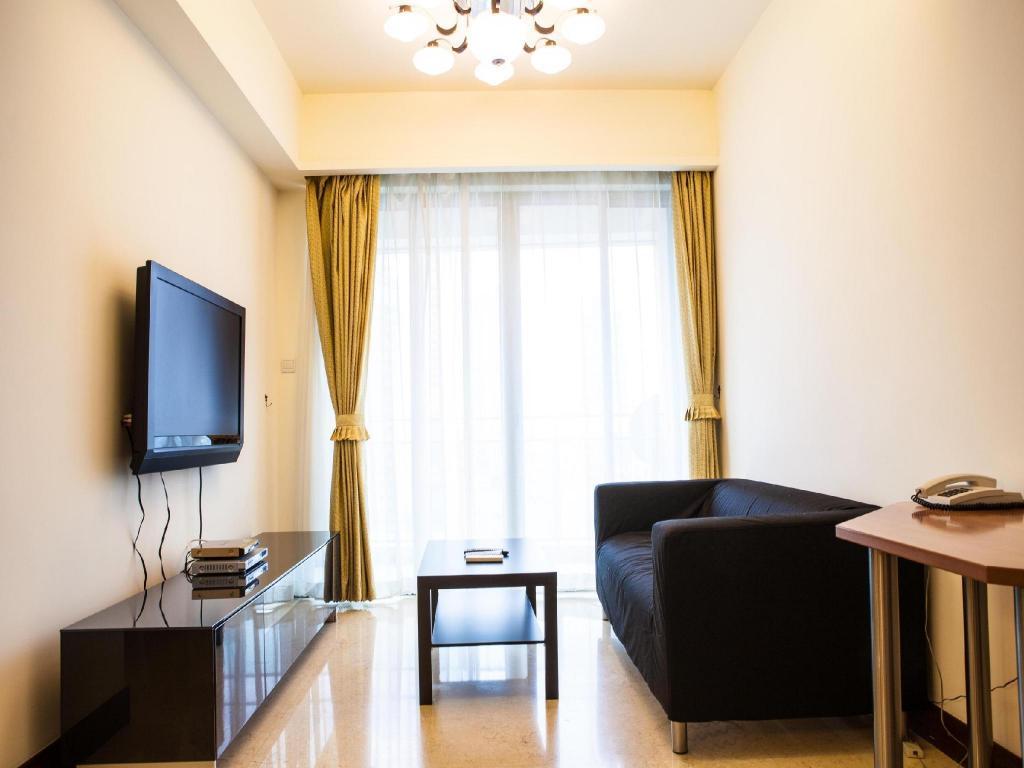 3 Room Flat book yopark serviced apartment-jing an four seasons