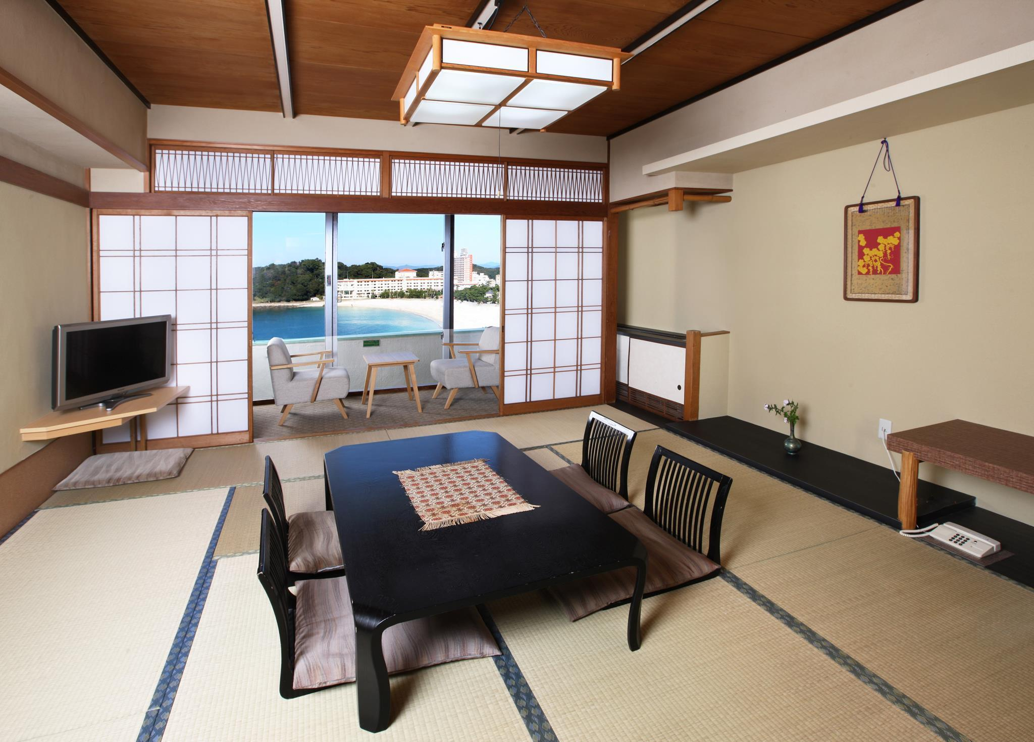 Japanese-Style Room with Dining Room Dinner