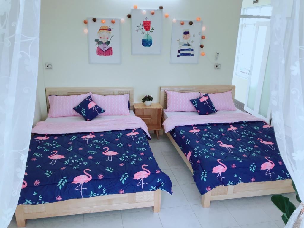 2 king bed garden room at q house quy nhon クチコミあり