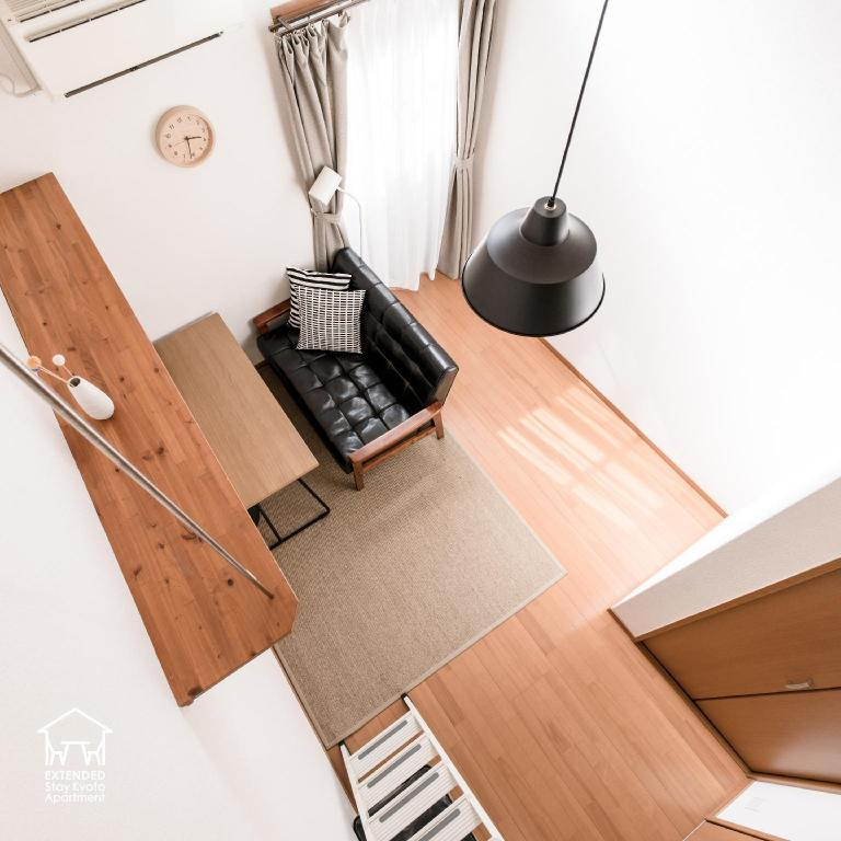 Modern Japanese - Room plan Extended Stay Kyoto Apartment