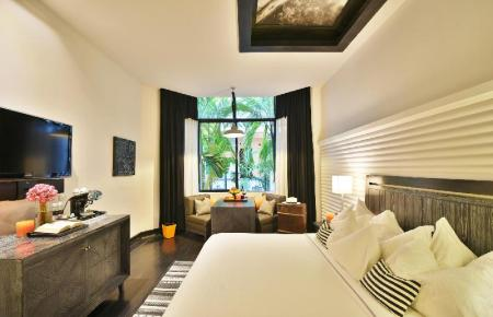 Superior King Room - Room plan Shinta Mani Angkor