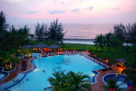 Swimming pool [outdoor] Miri Marriott Resort & Spa