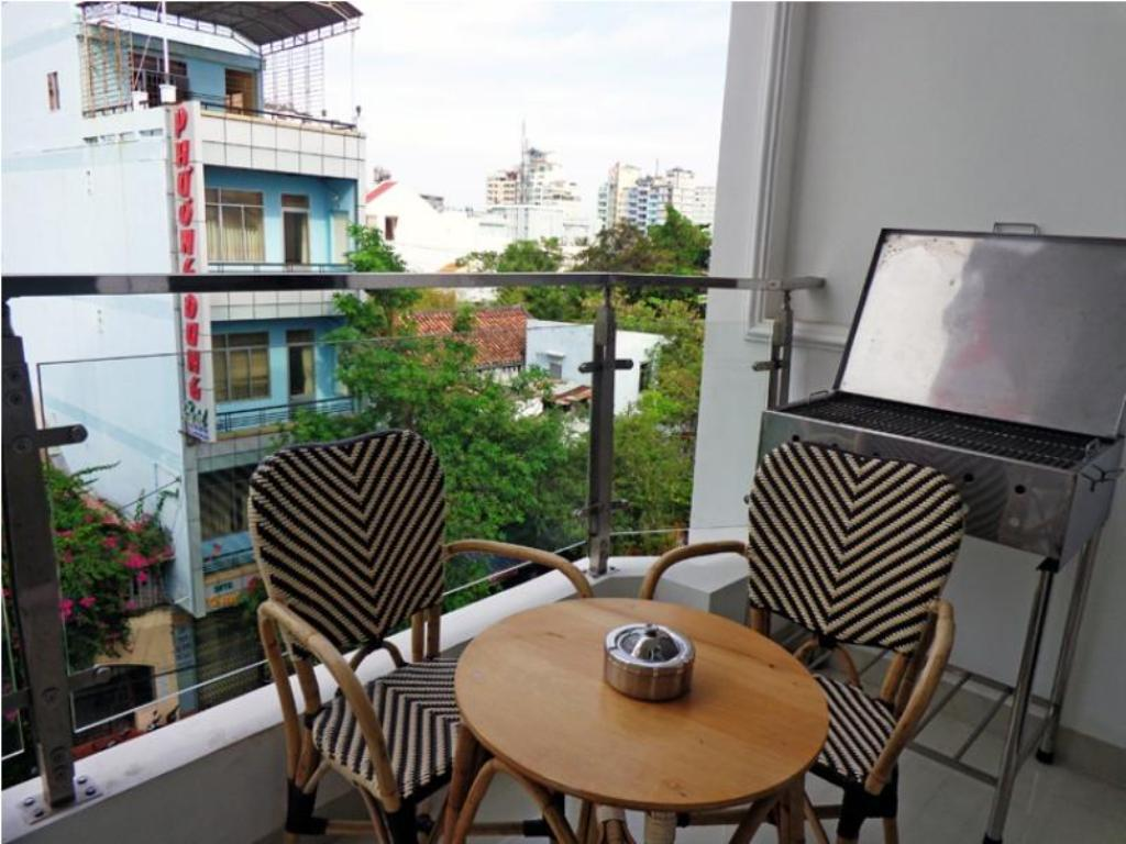 Balcony/terrace Nha Trang City Apartments