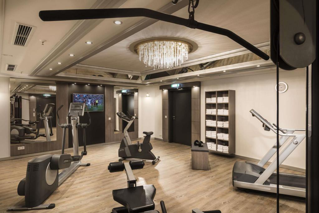 Fitness center Maritim Hotel Munich