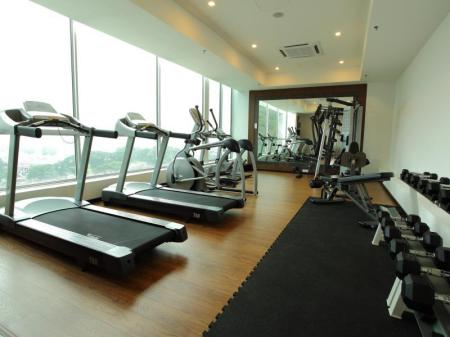 Fitness center Symphony Suites Hotel