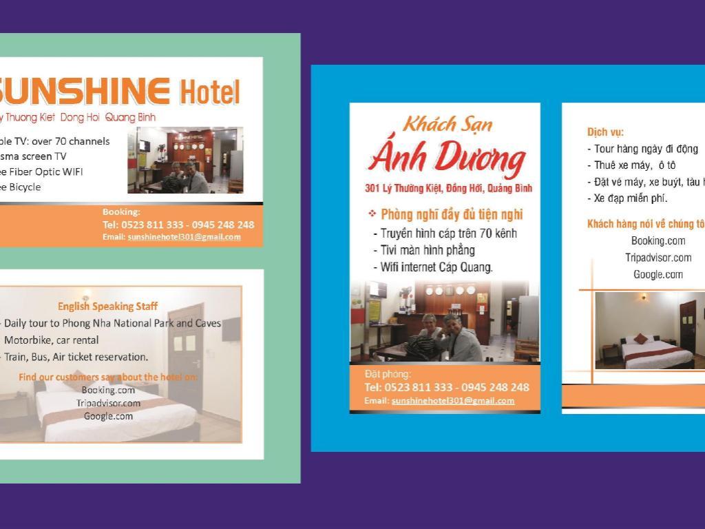 Das Sunshine Hotel Quang Binh in Dong Hoi (Quang Binh) buchen