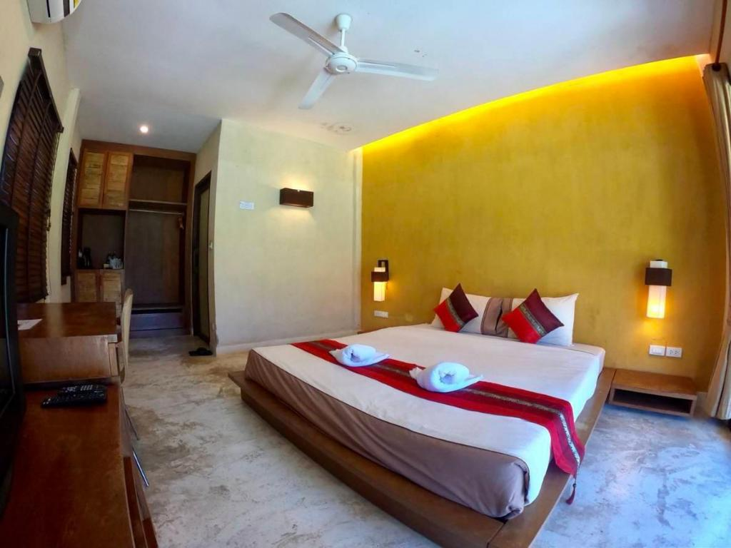 Standard Fan Single Bed - Bedroom D2 Pai Resort