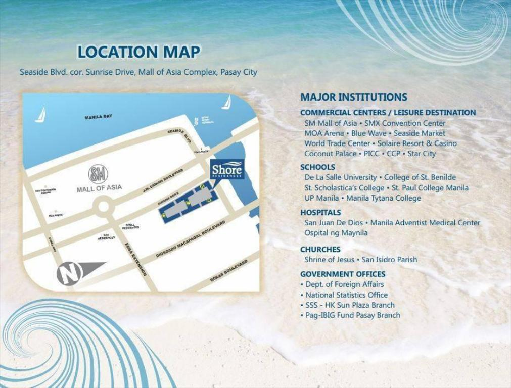 Prime Accommodations at Shore Residences Manila Philippines